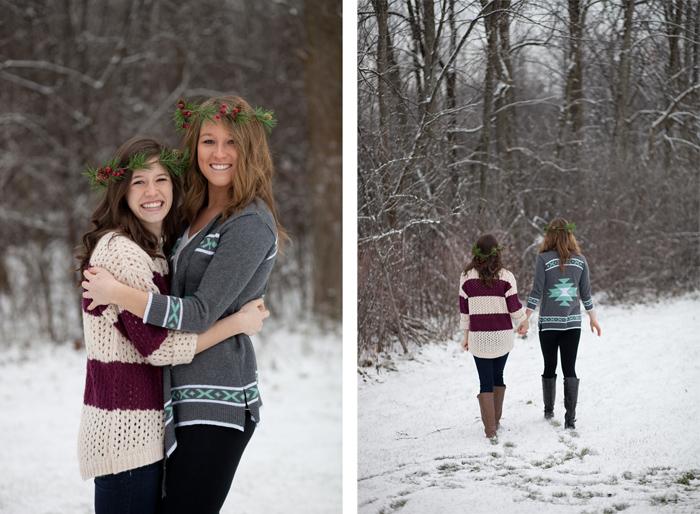 Michigan Winter Family Portraits