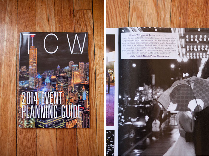 Today's Chicago Woman Wedding Feature