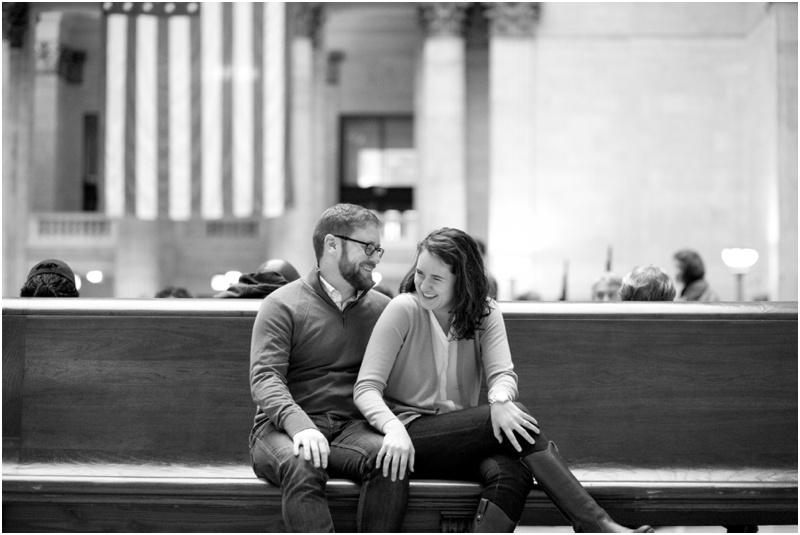 Classic Chicago Engagement Photos