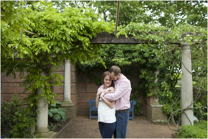 Chicago Botanic Garden Engagement Photos