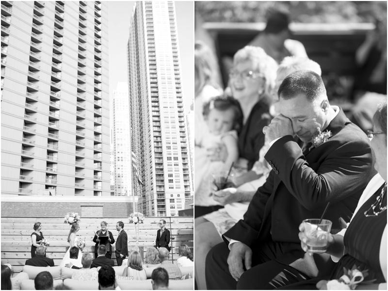 Intimate Chicago Restaurant Wedding