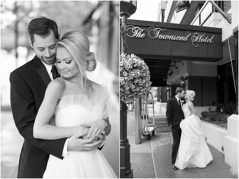 The Townsend Hotel Wedding - Natalie Probst Photography