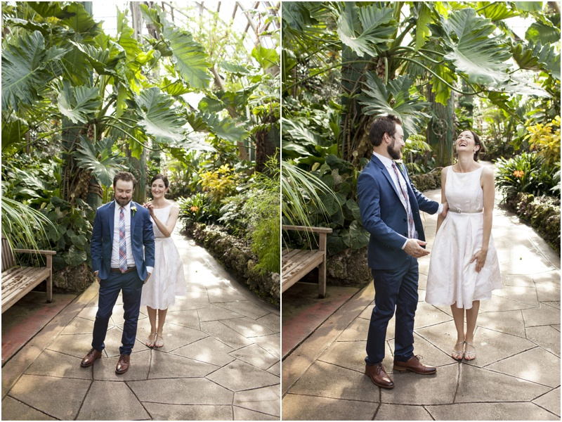 Intimate Lincoln Park Conservatory Wedding