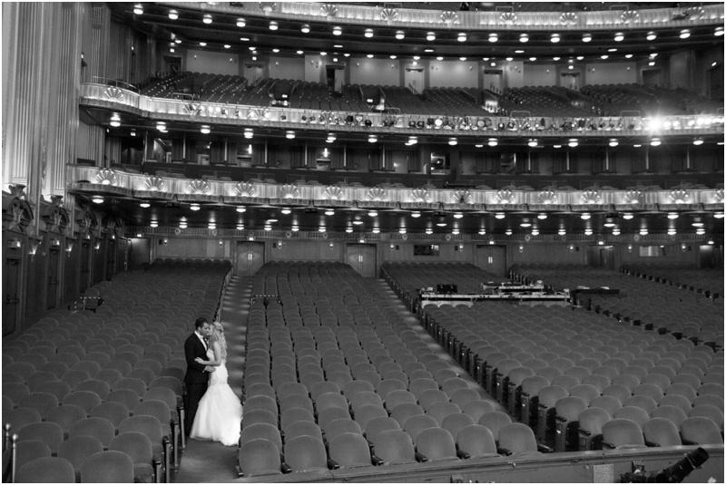 Civic Opera House Wedding - Natalie Probst Photography