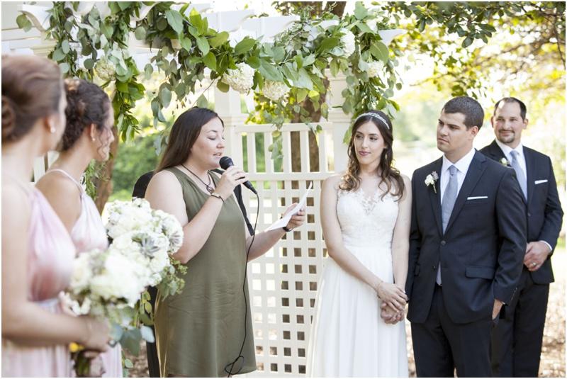 Summer Outdoor Michigan Wedding