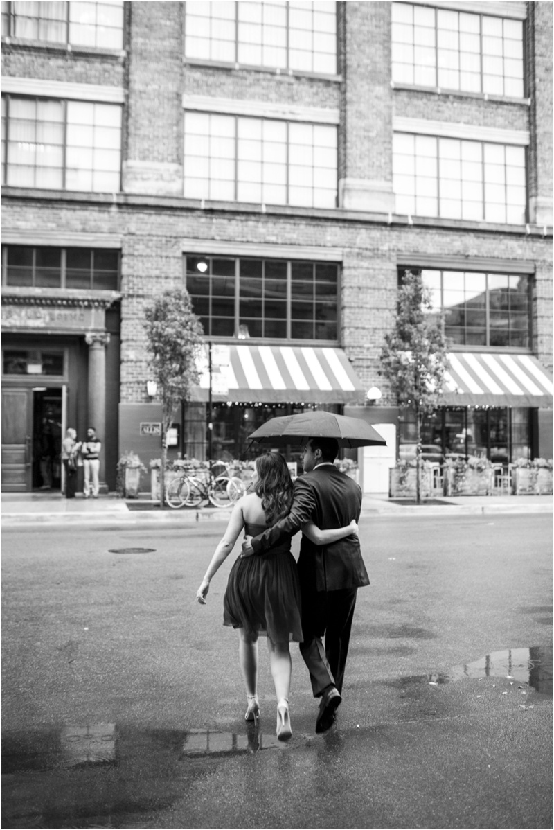 Romantic West Loop Engagement Photos