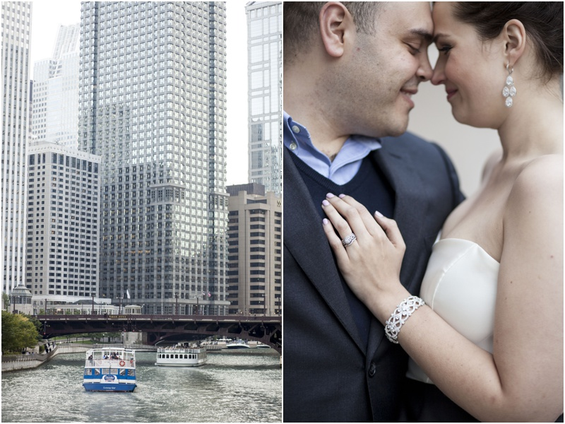 Downtown Chicago Anniversary Photos