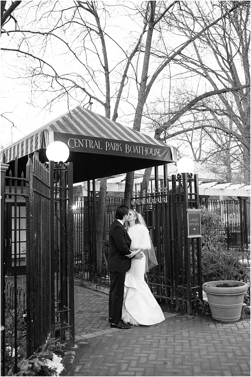 Wedding at Central Park Boathouse