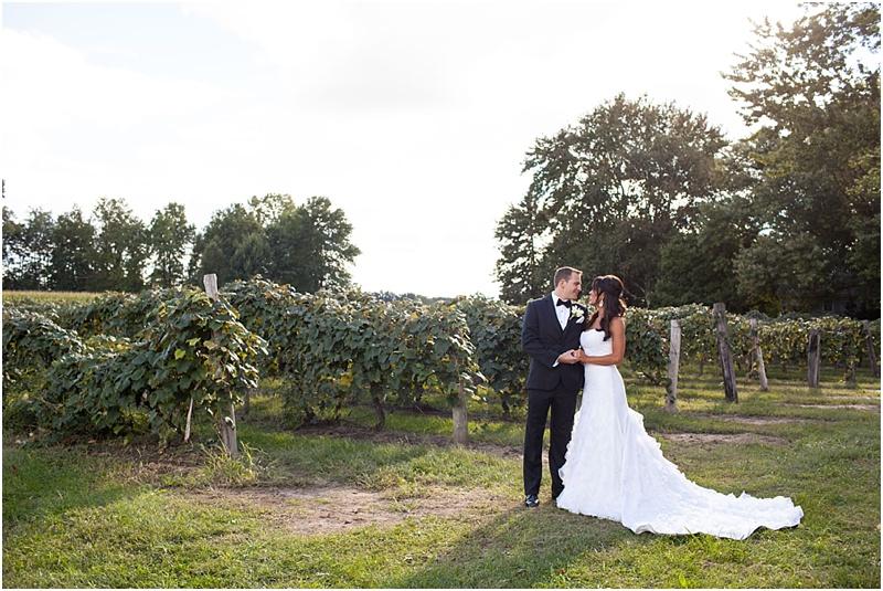 Michigan Vineyard Wedding