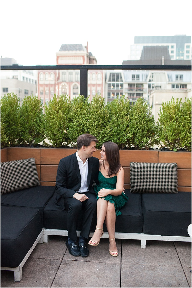 Chicago Rooftop Engagement Photos - Natalie Probst Photography
